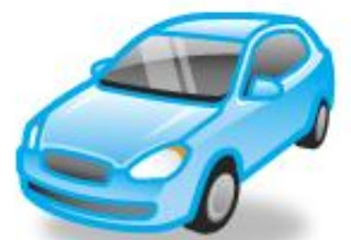 Image blue car