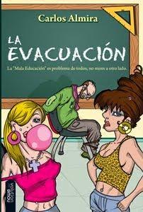 """Portada del libro """"La evacuación"""", de Carlos Almira"""