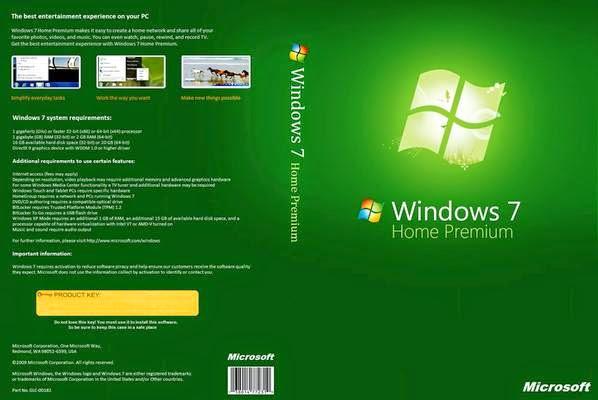 Windows 7 Home Premium SP1 x64 Abril 2014 Windows 7 Home Premium Front Cover 27783