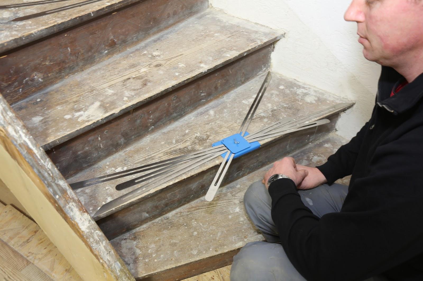 h k treppenrenovierung die treppenspinne und andere spezial werkzeuge zu ihrer treppen renovierung. Black Bedroom Furniture Sets. Home Design Ideas