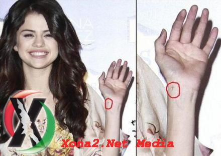 hSelena Gomez Tattoos