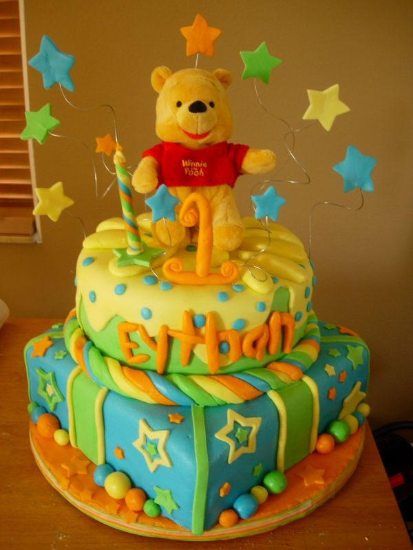 lilys Cakes And Breads Winnie The Pooh Birthday Cakes Decoration Ideas