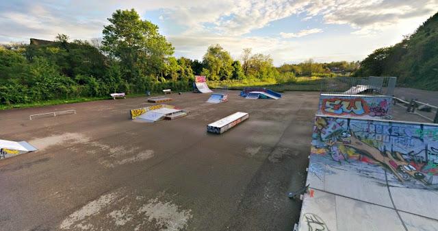 Skatepark Auxerre nouveaux modules