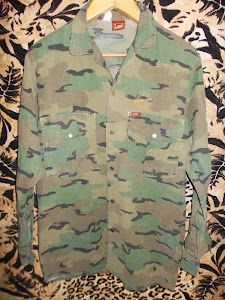 VINTAGE LEE COMBAT GEAR LIMITED CAMOUFLAGE ARMY