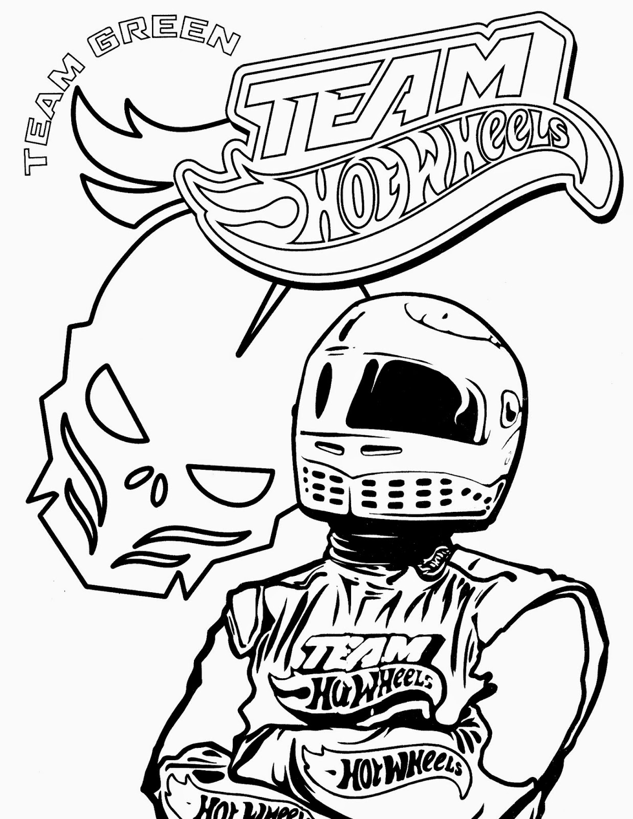 Hot Wheels Coloring Pages 62