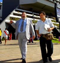 Con Lanata, en Asunción