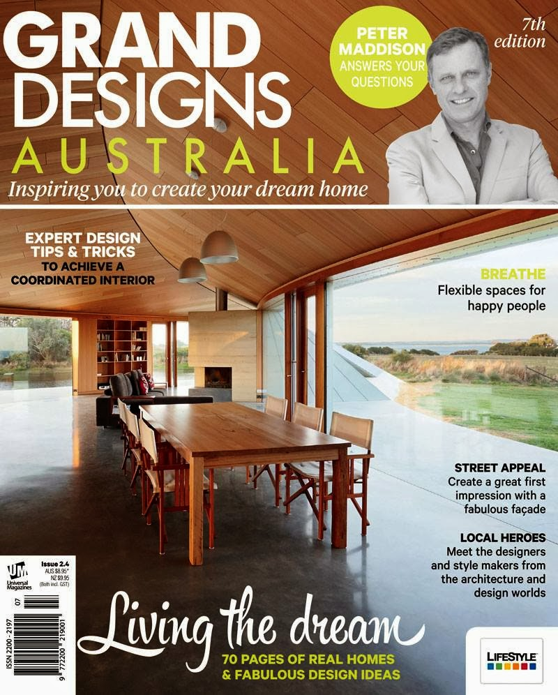 Minosa: Grand Designs Australia Magazine Feature Our Dover