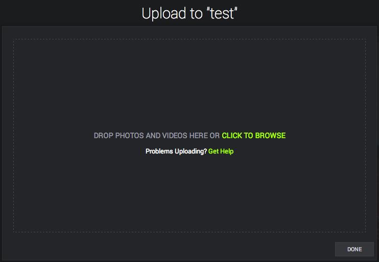 how to upload photos to amazon prime