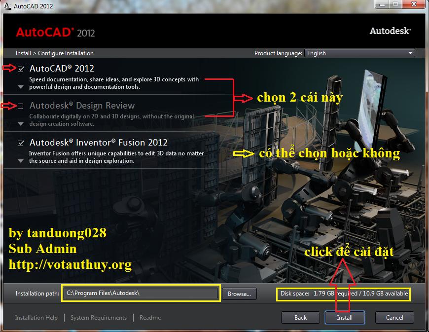 AutoCAD 2012 Setup Step 5