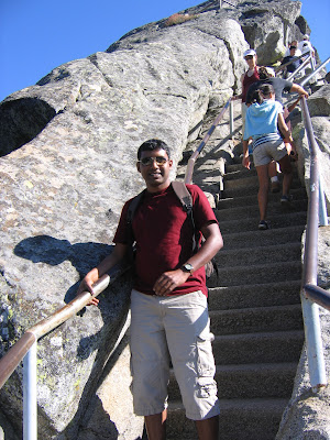 Moro Rock stairways
