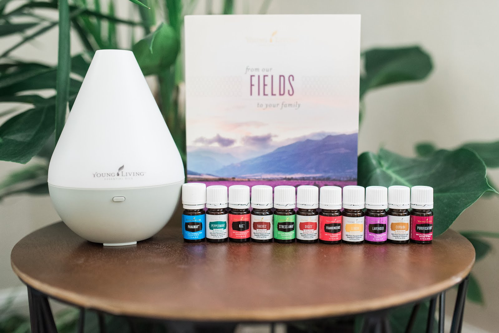 My Young Living website