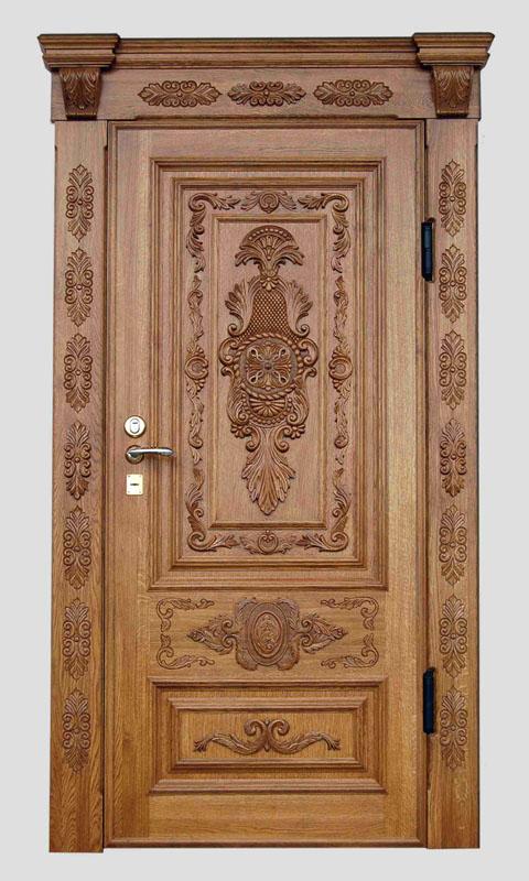 двери массив сосны массивные входные для церкви резные