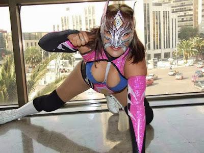 Lady Sensacion - Mexican Women Wrestling