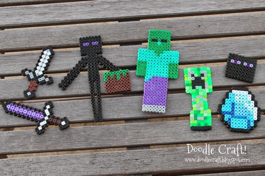 http://www.doodlecraftblog.com/2014/05/minecraft-perler-beads.html