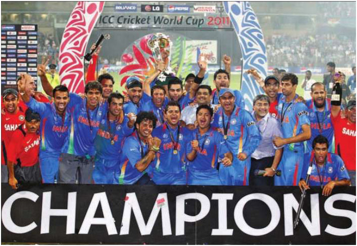 world cup 2011 winners group photo. world cup cricket 2011