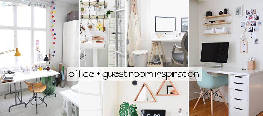 Office + Guest Room Inspiration . Delineate Your Dwelling