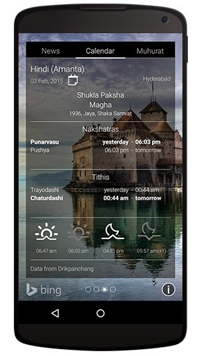 Microsoft's Picturesque Lock Screen app released for Android phones