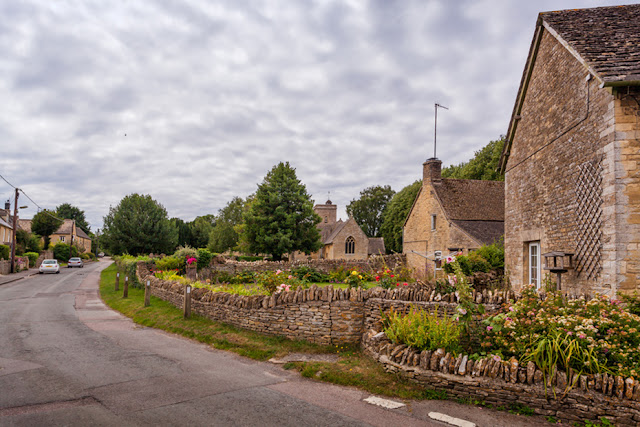 The village of Ascott under Wychwood by Martyn Ferry Photography