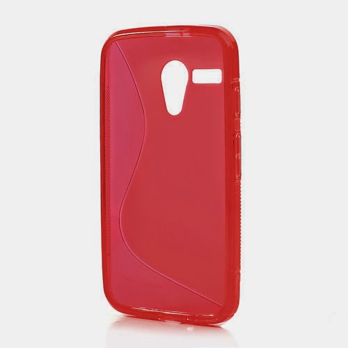 TPU-Jelly-Case-Motorola-Moto-G-DVX-XT1032-S-Line-Red