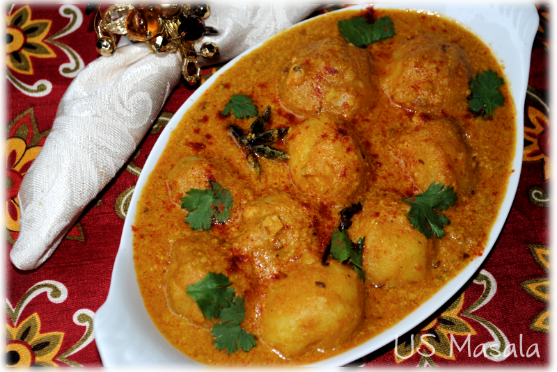 My recipe of Dum Aloo | Delicious recipes