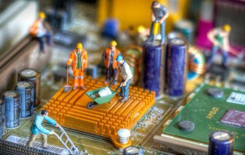 mantenimiento de hardware en placa base de pc