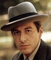 """Al Pacino, en """" El Padrino """""""