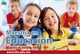 Inscríbase: Maestría en Educación