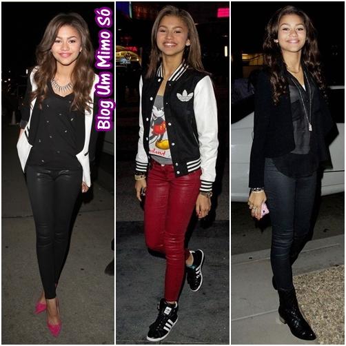 Disney Channel Tapete Vermelho : Para sair a noite,ela n?o deixa de lado a cal?a (ela usa as cal?as