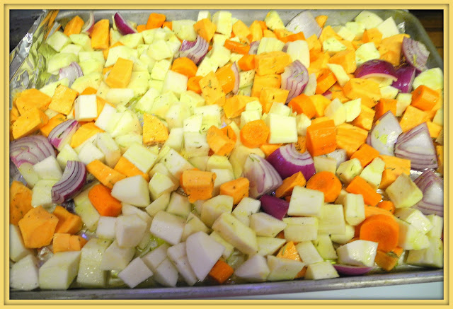how to cook root vegetables in oven
