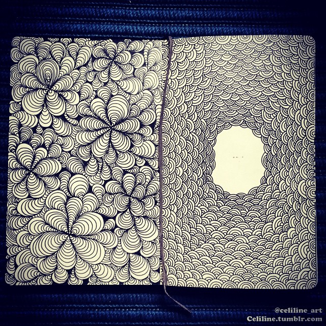 21-Celiline-Hand-Drawn-Zentangle-Doodles-Illustrations-Drawings-www-designstack-co