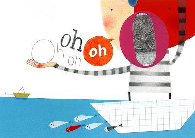 Collage, matita, matite colora