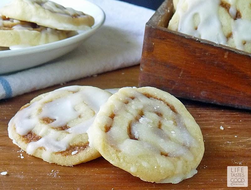 Cinnamon Roll Cookies | by Life Tastes Good taste just like an ooey ...