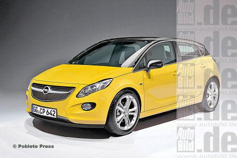фотографии Opel Corsa 2014