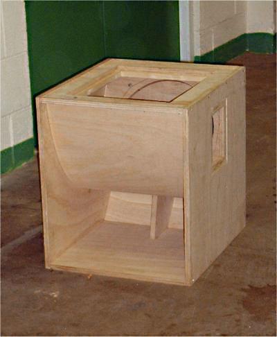 how to make cerwin vega box