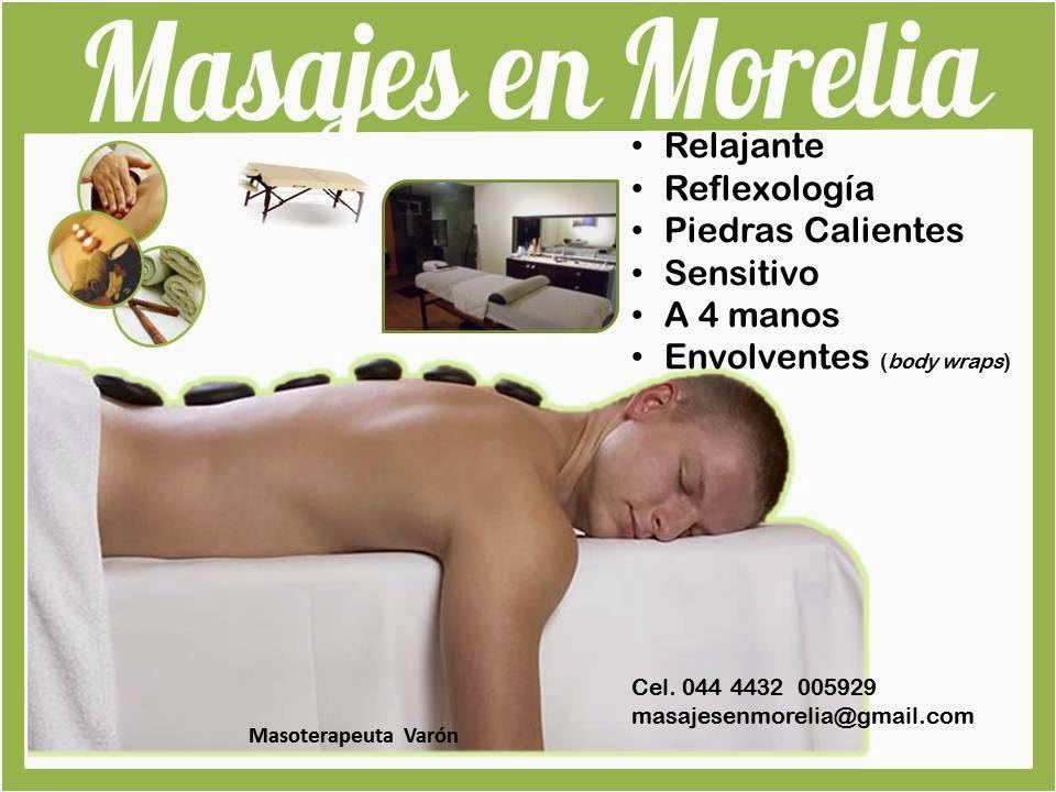 Masajes en Morelia