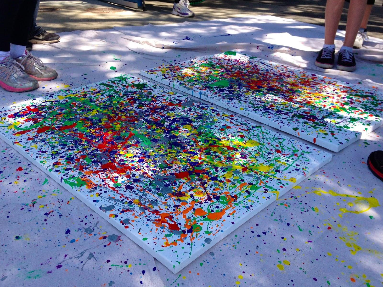 Dwelling by Design: Art for Children: Jackson Pollock