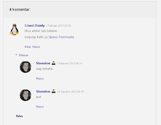 CSS Komentar Blogger Seperti Komentar Google+