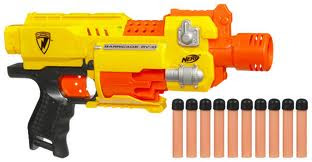 nerf barricade silahı, nerf silahları