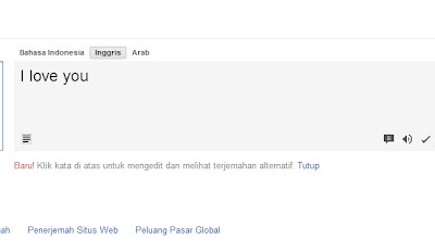 Google Indonesia Translate