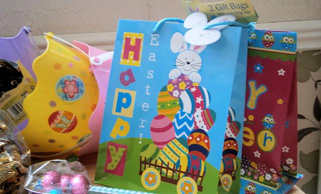 Easter hunt goodie bags