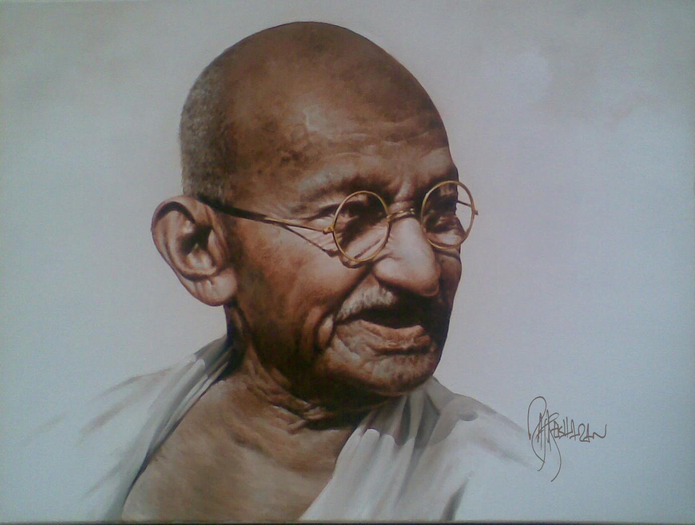 mahatma gandhi a hero to india and the world