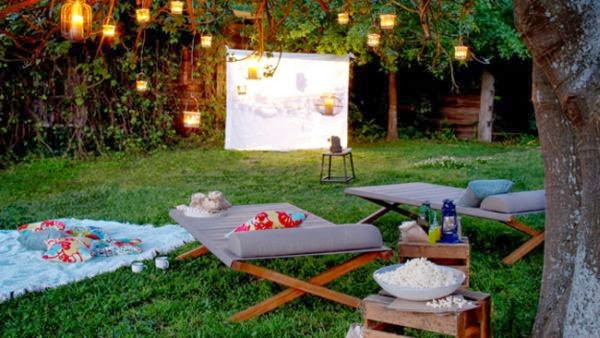 Outdoor garden furniture and your backyard - Relaxing place Feng Shui