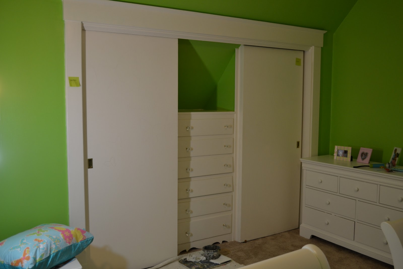 built in dresser designs