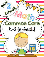 K-2 Math Common Core Resources