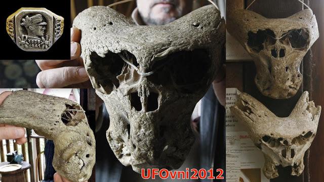 Un des crânes trouvés étrange et Anunnaki ? Adygea, Russie