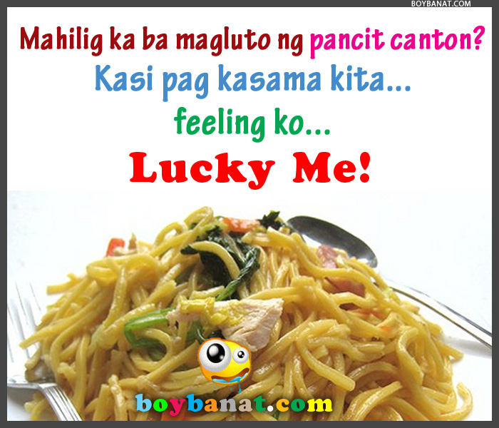 Cheesy Pick Up Line Tagalog