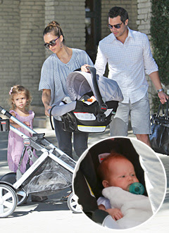 haven jessica alba y su esposo cash warren y su daughter hija