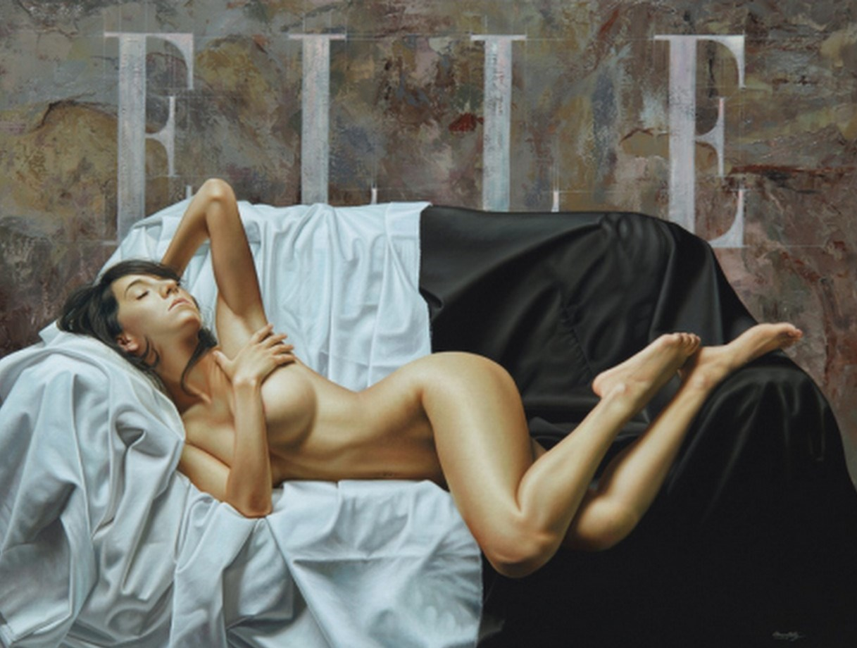 El Desnudo Art Stico De La Mujer M Imo Realismo Mujere Acostada