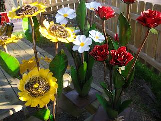Metal Floral Bouquets
