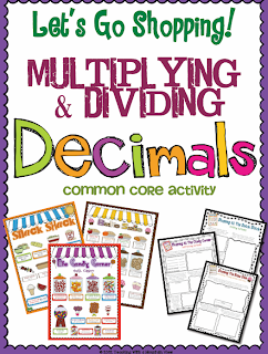 Product Swap - Multiplying and Dividing Decimals - Wild about ...